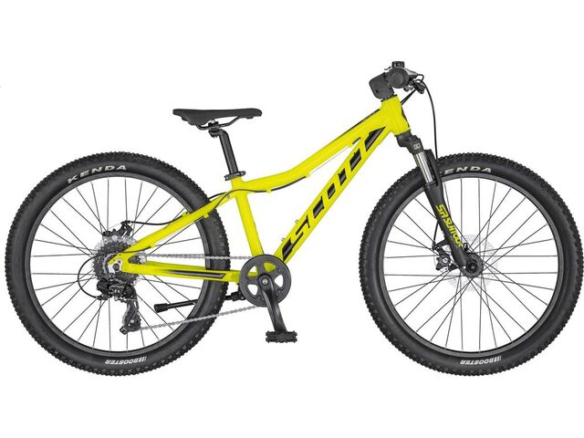 Dětské  kolo SCOTT SCALE 24 DISC 2020 yellow/black