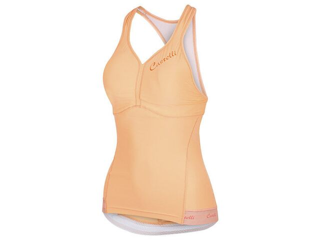 Castelli – dámský top Bellissima, light orange