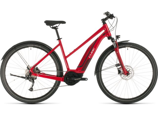 Elektrokolo CUBE NATURE HYBRID ONE ALLROAD 400 TRAPEZE 2020 red´n´red