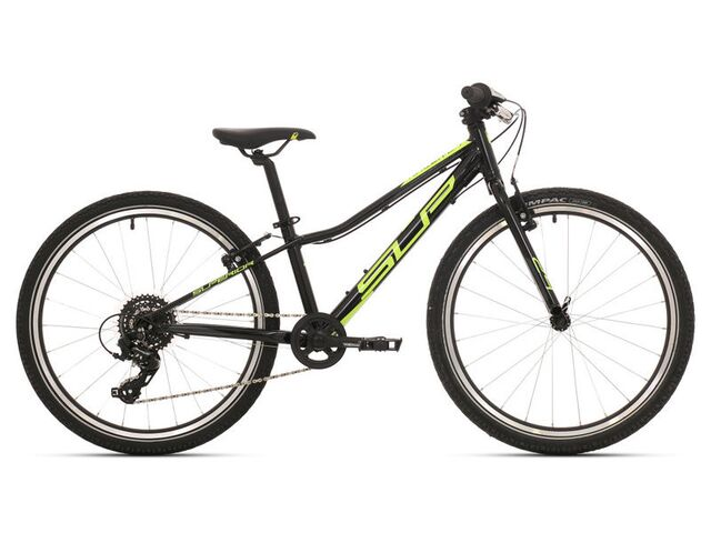 Dětské kolo SUPERIOR RACER RX 24 2019 Gloss Black/Neon Yellow/Dark Grey