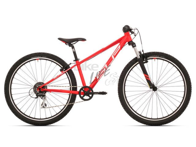 Dětské kolo SUPERIOR RACER 27 2019 Matte Neon Red/White/Dark Red