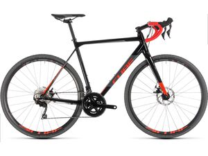 Cyklokrosové kolo CUBE CROSS RACE 2019 black´n´red