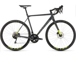 Cyklokrosové kolo CUBE CROSS RACE PRO 2019 grey´n´flashyellow