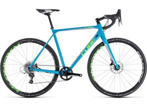 Cyklokrosové kolo CUBE CROSS RACE SL 2018 blue'n'green