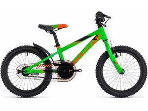 Dětské kolo CUBE KID 160 2018 flashgreen'n'orange