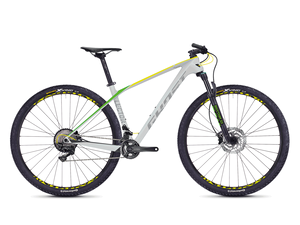 Horské kolo GHOST LECTOR 3.9 LC 2018 grey / yellow green