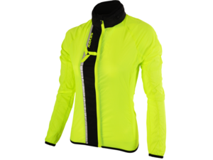 Dámská bunda SILVINI ultra light GELA WJ802 neon-black