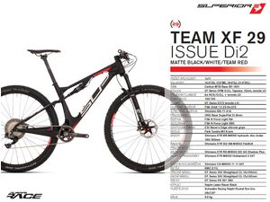 Horské kolo SUPERIOR TEAM XF 29 Issue Di2 2018